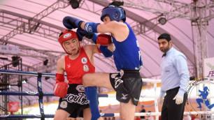 Сборная Казахстана по муайтай завоевала пять медалей на чемпионате мира в Таиланде
