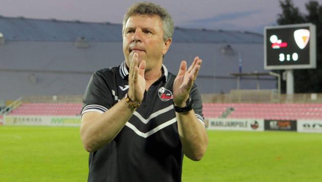 Клуб казахстанского тренера победил с общим счетом 10:0 и вышел в третий раунд Лиги Европы