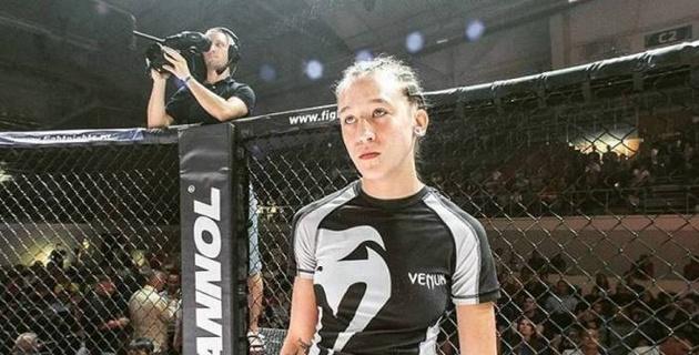 Девушка-боец из Казахстана прокомментировала поражение в бою за контракт с UFC