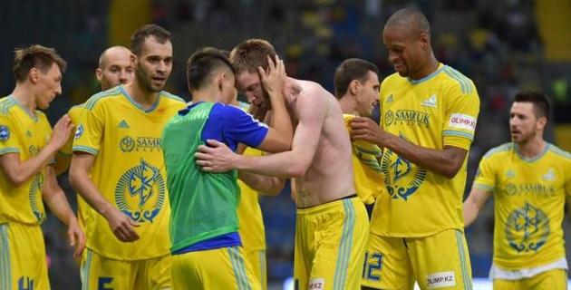 """Хет-трик Томасова вывел """"Астану"""" в третий раунд Лиги Европы"""