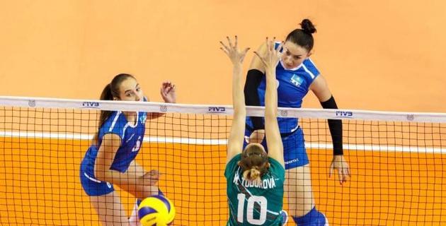 Казахстанские волейболистки провалили отборочный турнир и остались без прямой путевки на ОИ-2020
