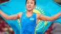 Казахстанец победил узбекского борца и стал чемпионом мира