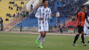 Защитник сборной Казахстана пропустит следующий матч в КПЛ