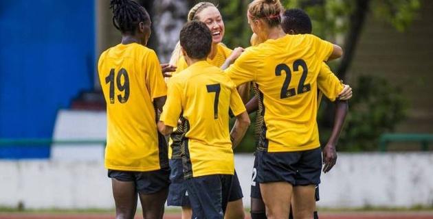 Казахстанский клуб забил девять безответных голов в стартовом матче женской Лиги чемпионов
