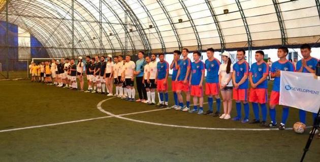 В Алматы определился обладатель Кубка акима по мини-футболу среди строителей