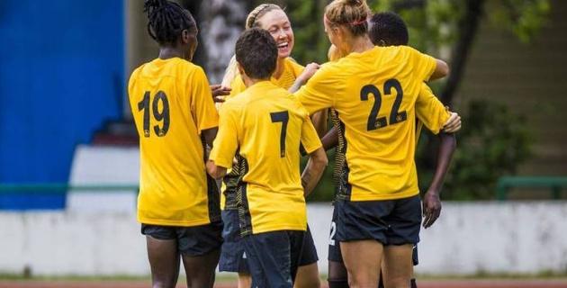 Казахстанский клуб одержал вторую победу и сохранил лидерство в группе женской Лиги чемпионов