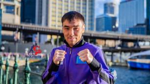 Непобежденный казахстанец с титулом WBA проведет бой за пояса от WBO и IBF