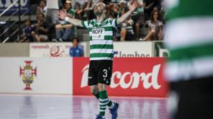 Нападающий сборной Казахстана по футзалу забил первый гол за действующего победителя Лиги чемпионов