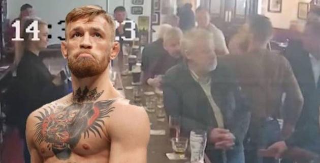 МакГрегор побил пожилого мужчину за отказ выпить его виски