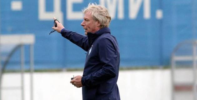 """Экс-соперник """"Астаны"""" по Лиге Европы провел первую тренировку с новым тренером"""