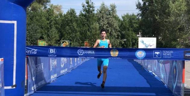 В Усть-Каменогорске впервые в истории прошли республиканские соревнования по триатлону
