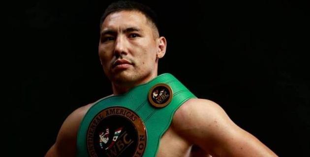 Стало известно, сколько казахстанский боксер Алимханулы заработал за первый титульный бой в карьере