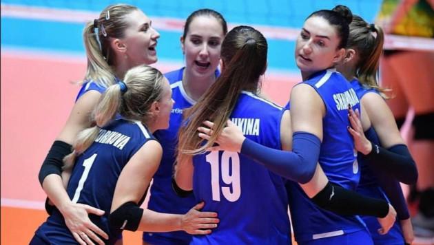 Казахстанские волейболистки стартовали с победы на чемпионате Азии