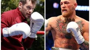 МакГрегор принял вызов на бой от боксера с титулом из веса Головкина