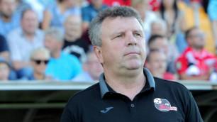 Клуб казахстанского тренера сыграл вничью в первом матче за выход в группу Лиги Европы