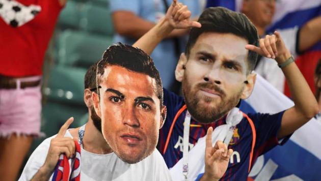 Роналду озлобился на Месси