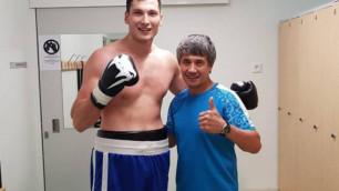 Казахстанский супертяж дебютировал в США с победы