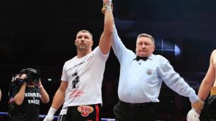 Нокаутировавший Уайлдера боксер одержал досрочную победу в первом раунде