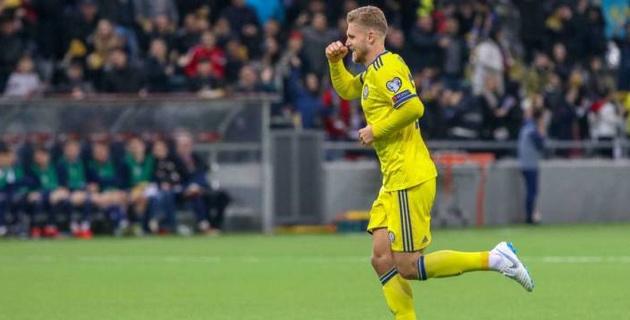 Казахстанец помог своему клубу сыграть вничью со второй командой чемпионата Голландии