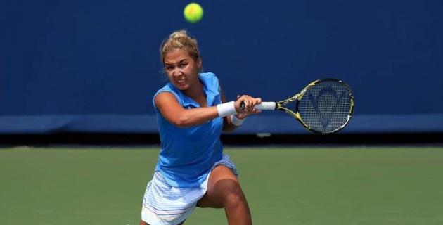 Зарина Дияс выиграла первый сет со счетом 6:1, но уступила второй ракетке мира на US Open