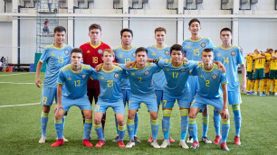 Сборная Казахстана разгромила Таджикистан и выиграла Кубок Президента по футболу