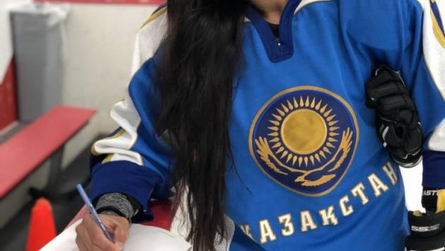 В американском клубе показали, как готовится к сезону первая в истории женской НХЛ хоккеистка из Казахстана
