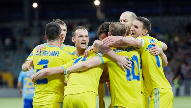 """""""Астана"""" сыграет с """"Манчестер Юнайтед"""" в группе Лиги Европы"""
