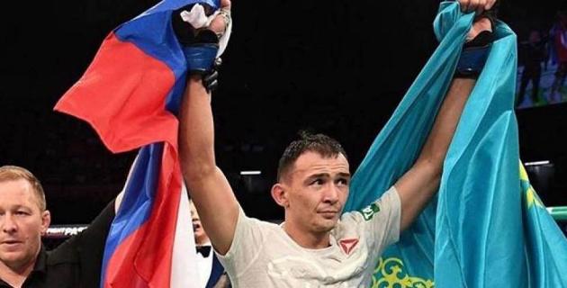 Казахский боец из России Исмагулов одержал третью победу в UFC