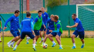 Как сборная Казахстана готовится к матчам с Кипром и Россией в отборе на Евро-2020