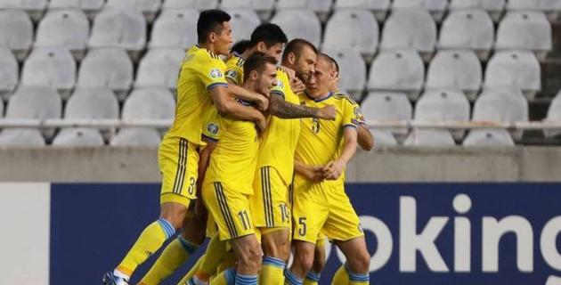 Сборная Казахстана сыграла вничью с Кипром в гостях и набрала седьмое очко в отборе на Евро-2020