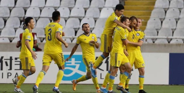 Видео голов в гостевом матче сборной Казахстана против Кипра в отборе на Евро-2020