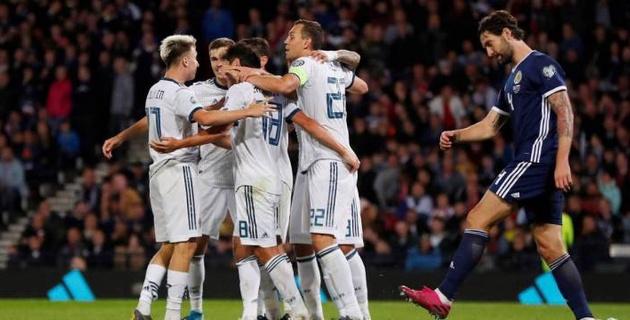 Россия перед матчем с Казахстаном одержала волевую победу в гостях в отборе на Евро-2020