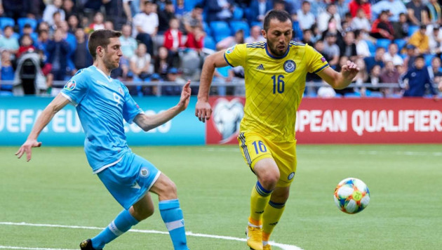 Сборная Казахстана лишилась основного игрока на матч с Россией