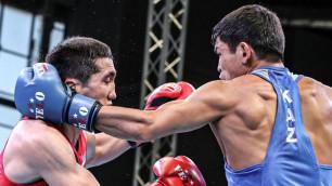 С кем встретятся казахстанские боксеры в первых боях на чемпионате мира