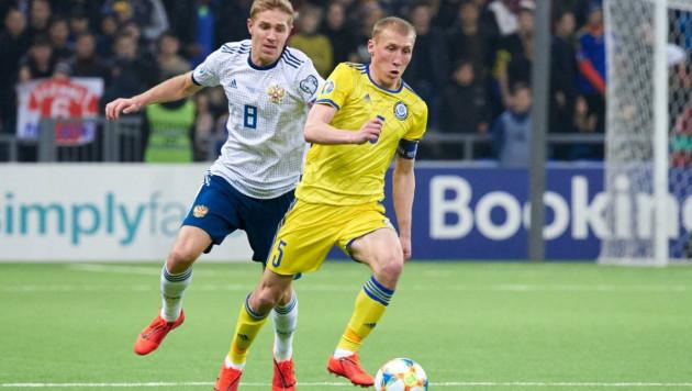 Прямая трансляция матча отбора Евро-2020 между сборными России и Казахстана