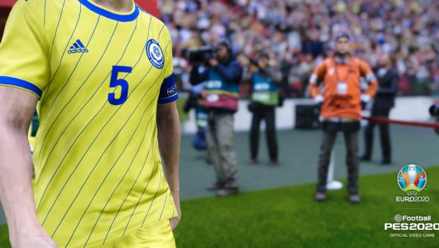 Сборная Казахстана включена в популярный футбольный симулятор PES