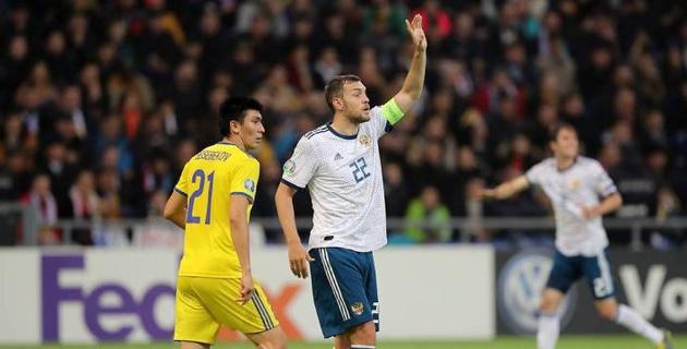 В первом матче с Казахстаном не дали им шансов - капитан сборной России
