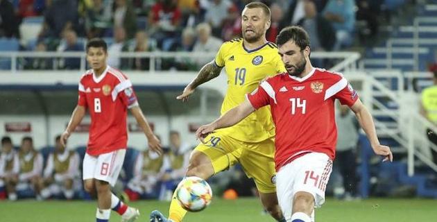 Победа над Казахстаном приблизила Россию к выходу на Евро-2020