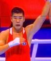 """Казахстанский боксер после победы с нокдауном на старте ЧМ заявил о планах на """"золото"""""""