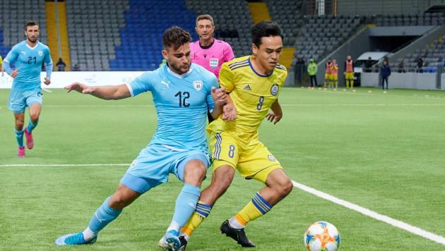 Молодежная сборная Казахстана не забила пенальти и проиграла в матче отбора на Евро-2021