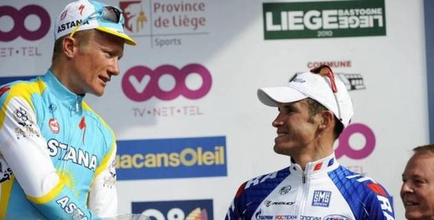 Прокуратура Бельгии запросила срок и штраф для Винокурова и российского гонщика