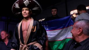 Узбекский обидчик Ералиева победил нокаутом в одном вечере с Елеусиновым