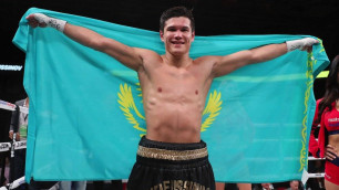 Данияр Елеусинов нокаутировал непобежденного американца в первом раунде
