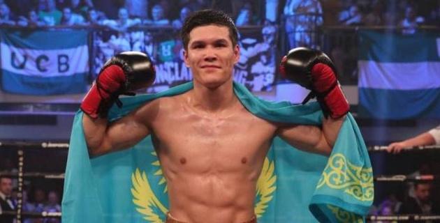 Видео боя, или как Данияр Елеусинов нокаутировал непобежденного американца в первом раунде