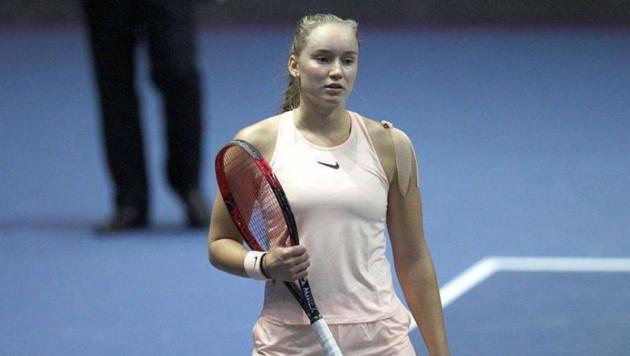 20-летняя теннисистка из Казахстана вышла в финал турнира WTA в Китае