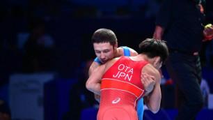 Капитан сборной Казахстана по греко-римской борьбе проиграл в полуфинале ЧМ-2019 обидчику по Олимпиаде-2016