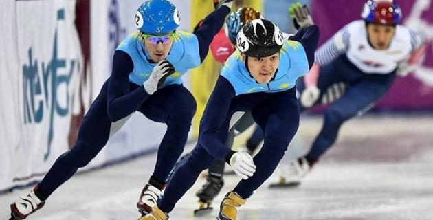 Казахстанский шорт-трекист победил на Кубке России