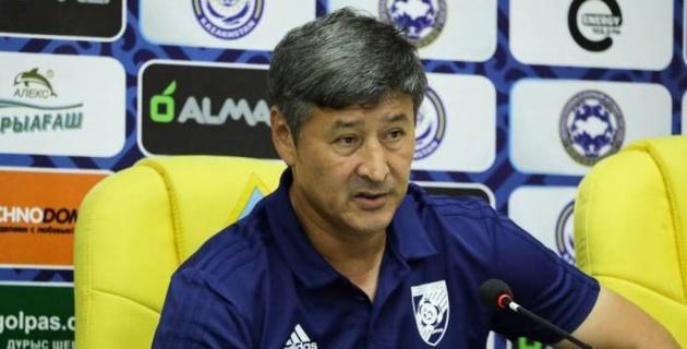 """Тренер """"Жетысу"""" назвал причины поражения от """"Кайрата"""" и пообещал дать бой """"Астане"""""""
