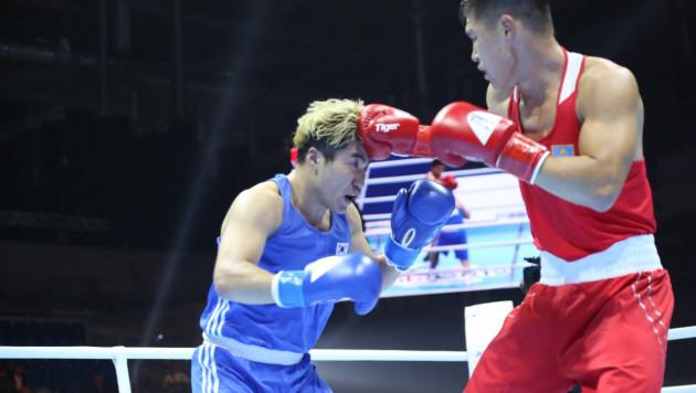 Видео боя, или как казахстанец снова отправил соперника в нокдаун и выиграл второй бой на ЧМ по боксу