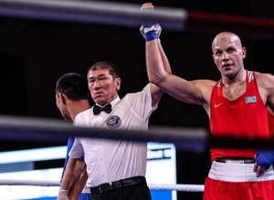 Видео победного боя казахстанца Левита на старте чемпионата мира-2019 по боксу